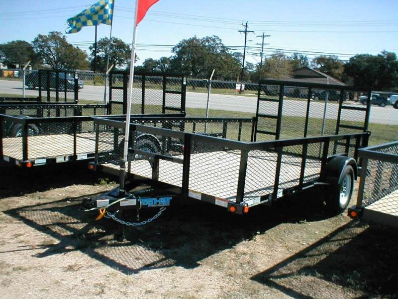 Top Hat Trailers 83X10MRAX Utility Trailer