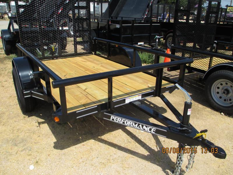 Performance Trailers SA6008 Utility Trailer
