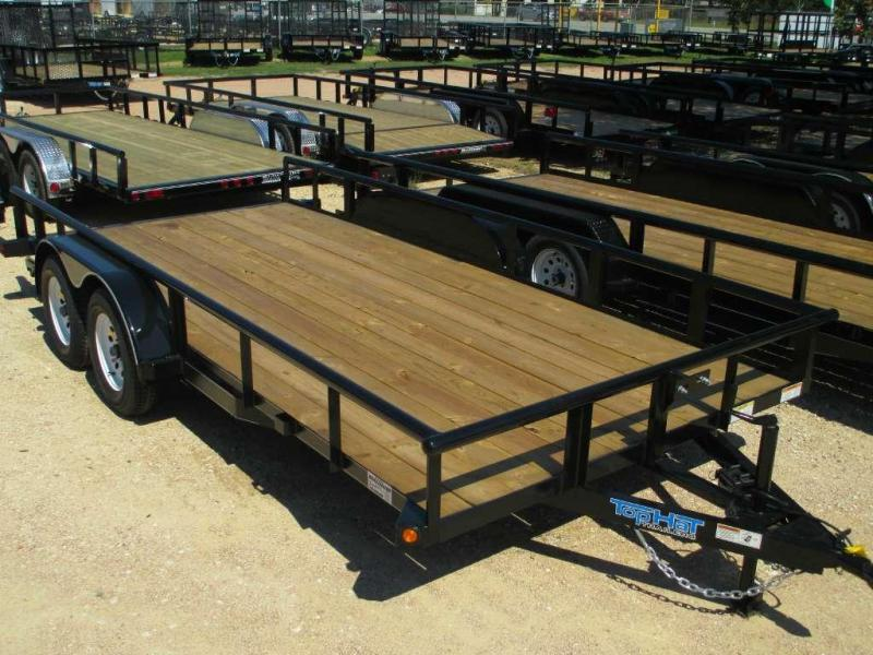 Top Hat 16MP Utility Trailer