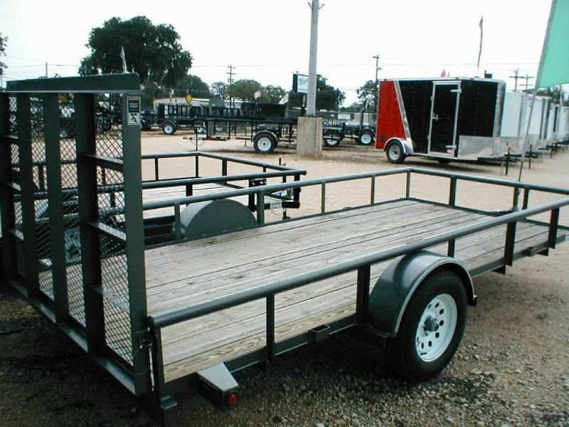 Top Hat Trailers 6.5X14DSP Utility Trailer