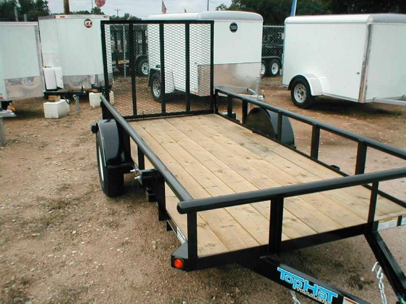 Top Hat Trailers 5X12DSP Utility Trailer