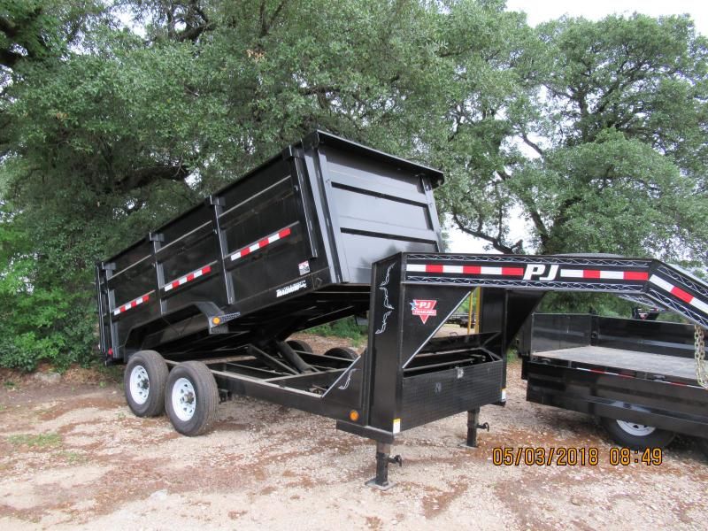 PJ Trailers DM14 - GN Dump Trailer