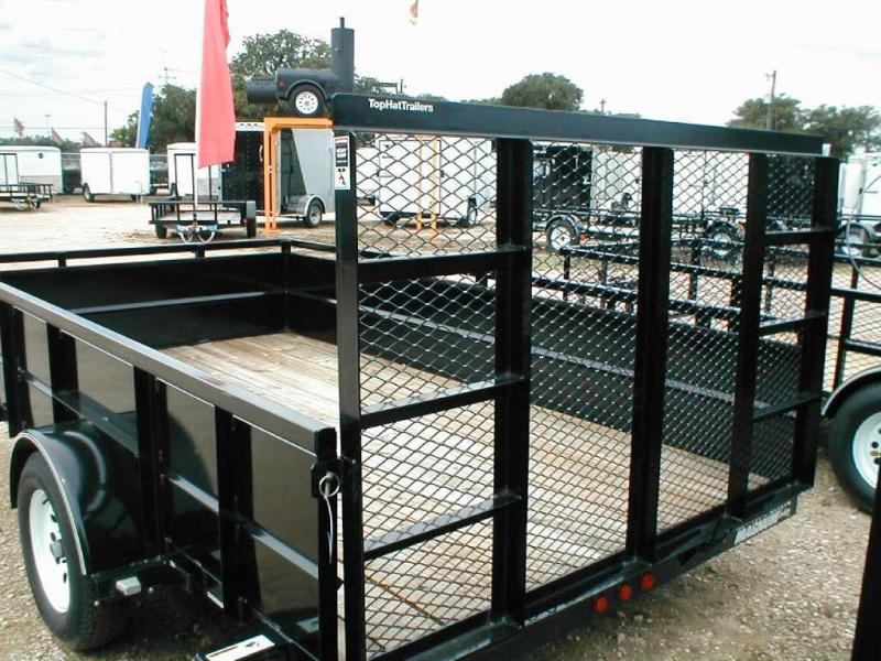 Top Hat Trailers 83X12MRA Utility Trailer