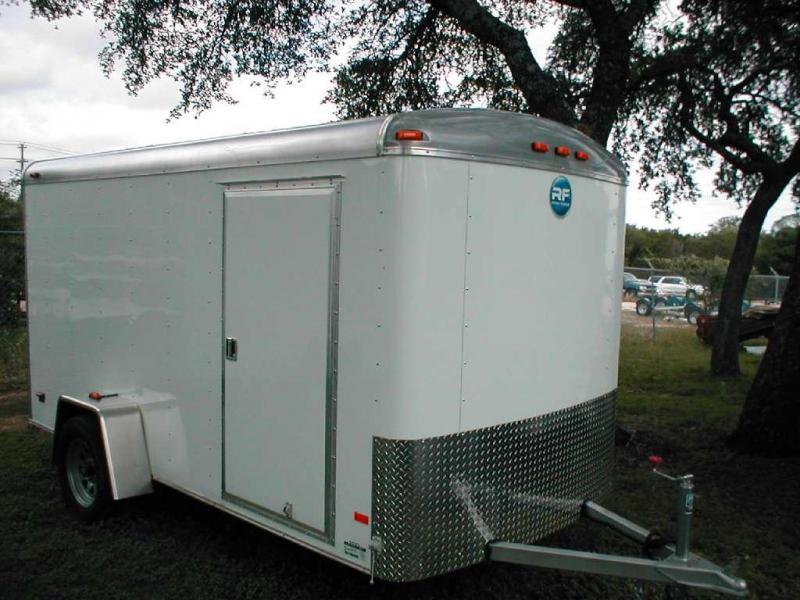 Wells Cargo RF6X121-R Enclosed Trailer