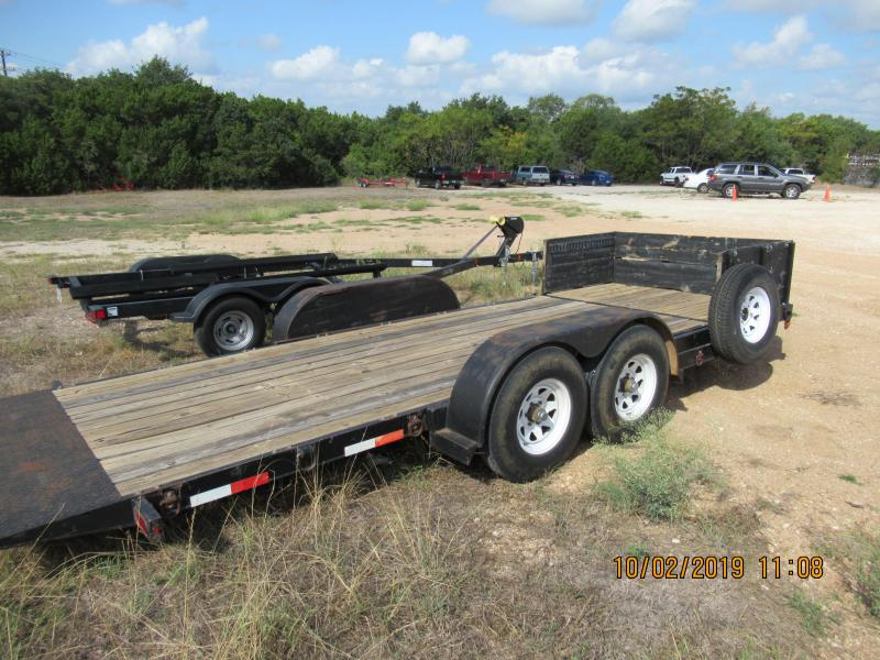 1998 Big Tex Trailers 10TL-20 Equipment Trailer