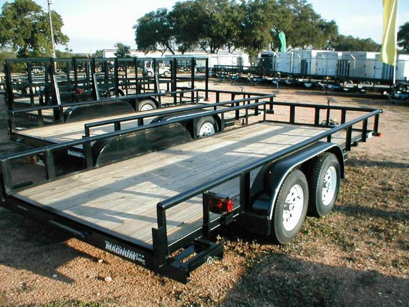 Top Hat Trailers 18EP Utility Trailer