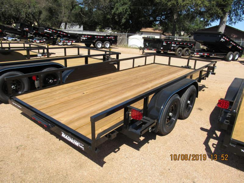 2020 Top Hat Trailers 16LDT Utility Trailer