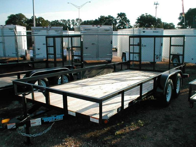 Top Hat Trailers 16EA Utility Trailer