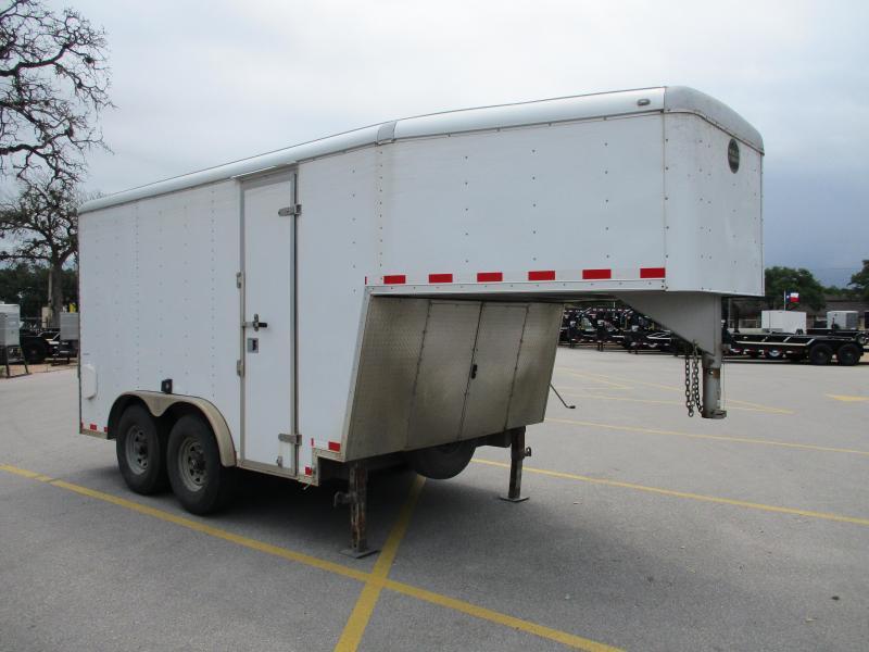 2012 Wells Cargo CVGT2025 Enclosed Cargo Trailer