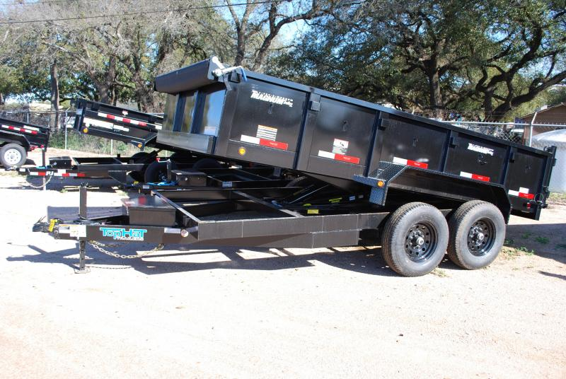 2020 Top Hat Trailers 7x14DPX Dump Trailer