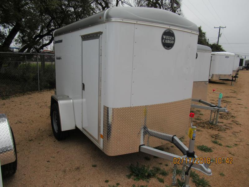 Wells Cargo RF5X81 Cargo / Enclosed Trailer