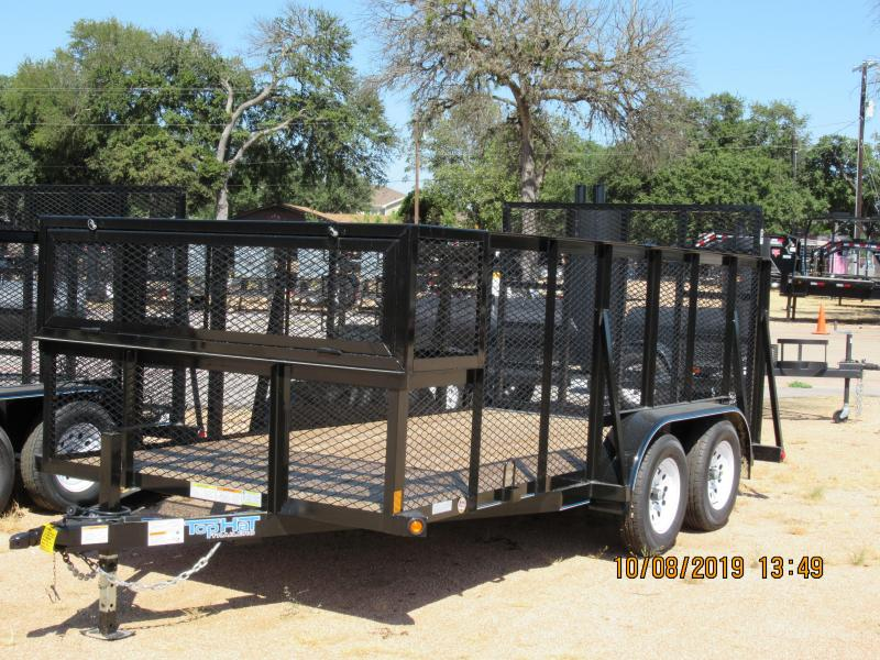 Top Hat Trailers 14LS Landscape Trailer