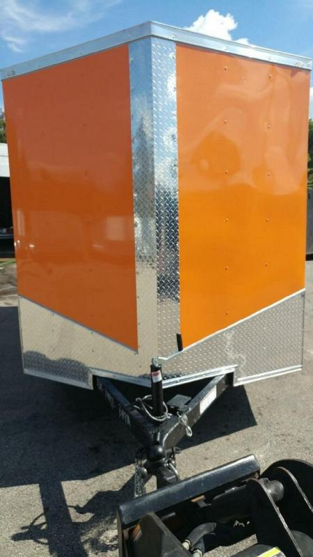 2020 Quality Cargo 7x14 TA Enclosed Cargo Trailer