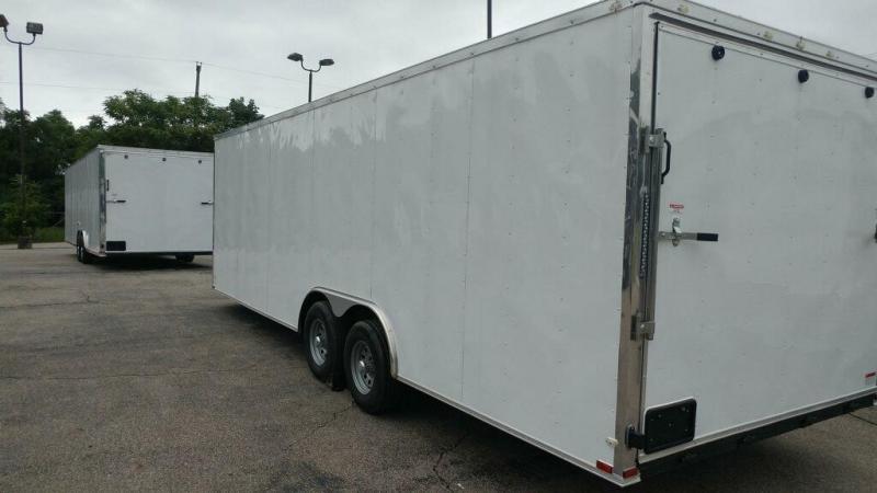 2019 Quality Cargo 8.5x24 Ta 3 Car / Racing Trailer
