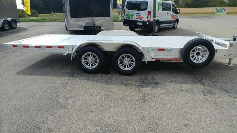 2019 H and H Trailer 82x18 Elec. speedloader Car / Racing Trailer