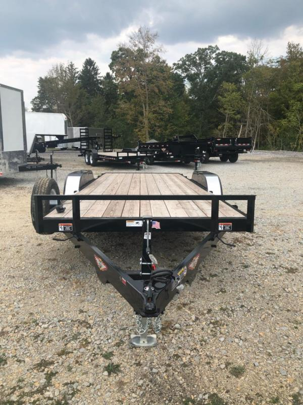 2019 H and H Trailer 82x20 MX speedloader Equipment Trailer