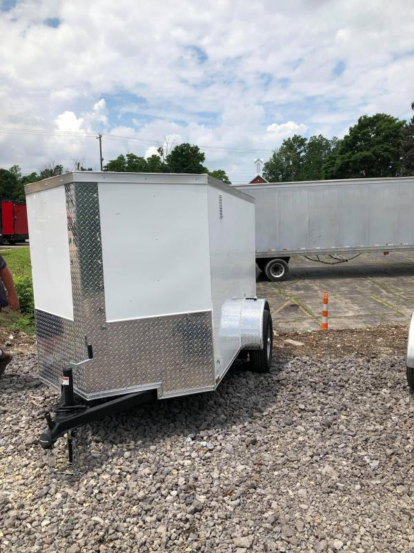 2019 Quality Cargo 5x8sa Enclosed Cargo Trailer