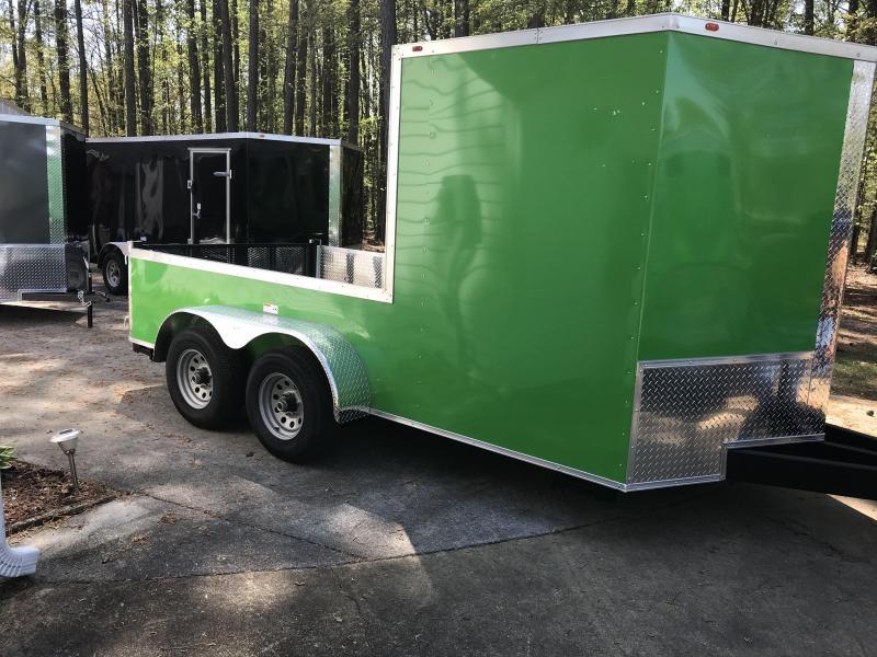 2018 Eagle Trailer 7x14TA3 Enclosed Cargo Trailer