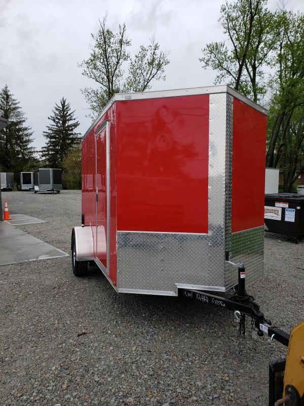 2019 Quality Cargo 6x10SA Enclosed Cargo Trailer