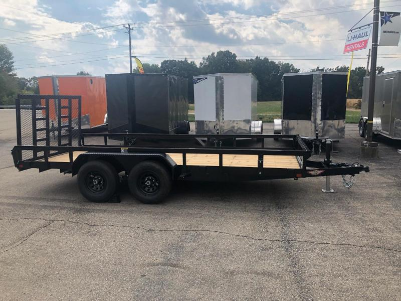 2019 H and H Trailer 82x16 Equipment Trailer