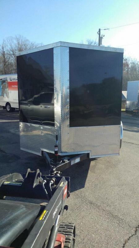 2020 Quality Cargo 7x12 TA Enclosed Cargo Trailer
