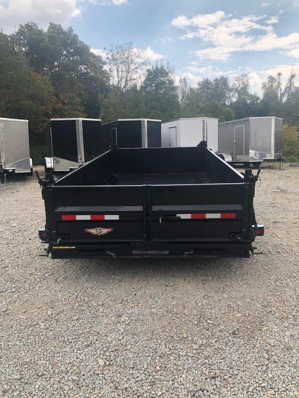 2019 H and H Trailer 83x14 DBW Dump Box Dump Trailer