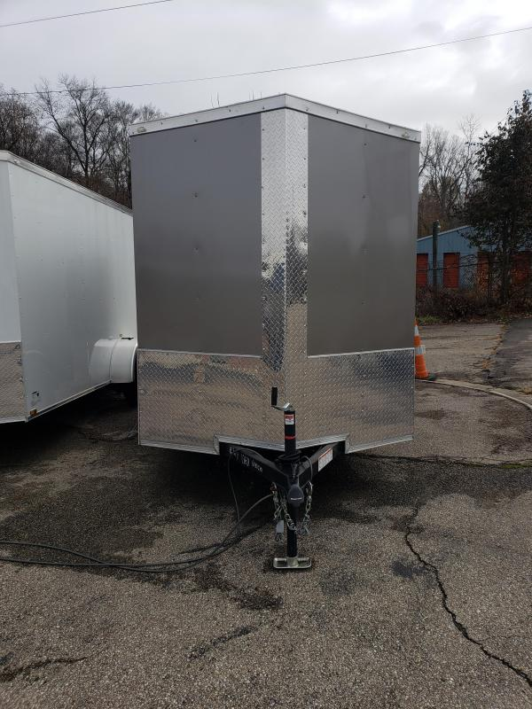 2019 Quality Cargo 6x10 SA Enclosed Cargo Trailer