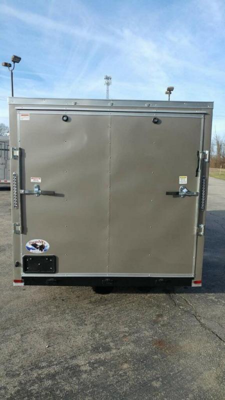 2020 Quality Cargo 7x16 TA Enclosed Cargo Trailer