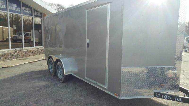 2020 Quality Cargo 7x16 TA Enclosed Cargo Trailer