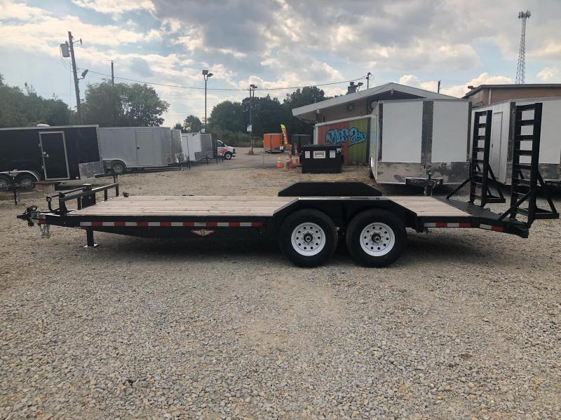 2019 H and H Trailer 20x82 Equipment Trailer