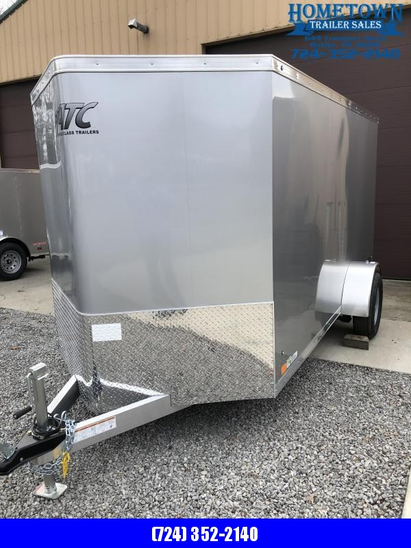 2020 ATC 6x12 Enclosed Cargo Trailer