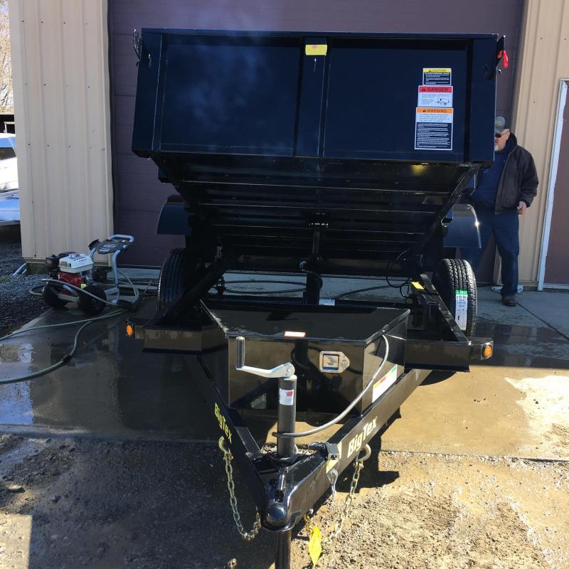 "2019 Big Tex Trailers 60"" x 8' Single Axle Dump Trailer"