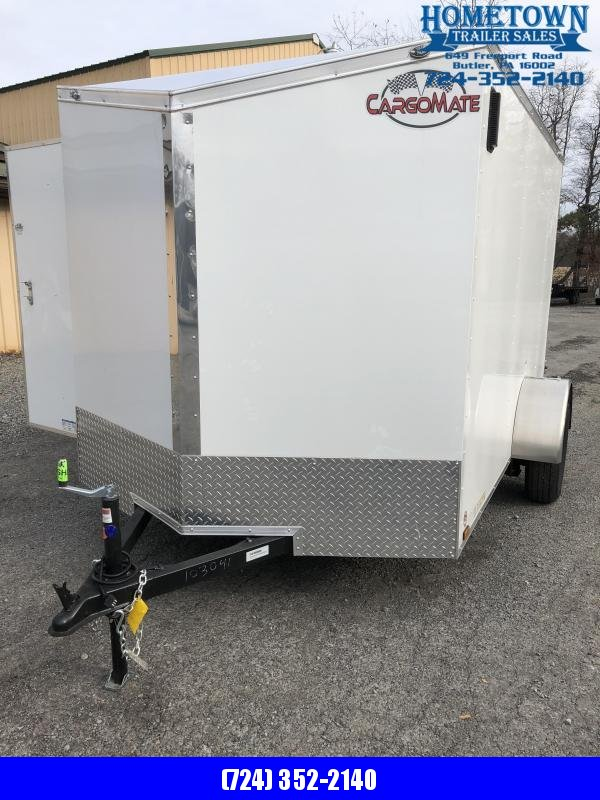 2020 Cargo Mate 6.5x10 Enclosed Cargo Trailer
