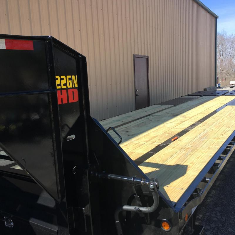 2019 Big Tex Goose Neck Equipment Trailer 25+5