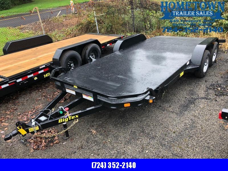 """2019 Big Tex (6'9"""" x 18') Tandem Axle Car Hauler"""