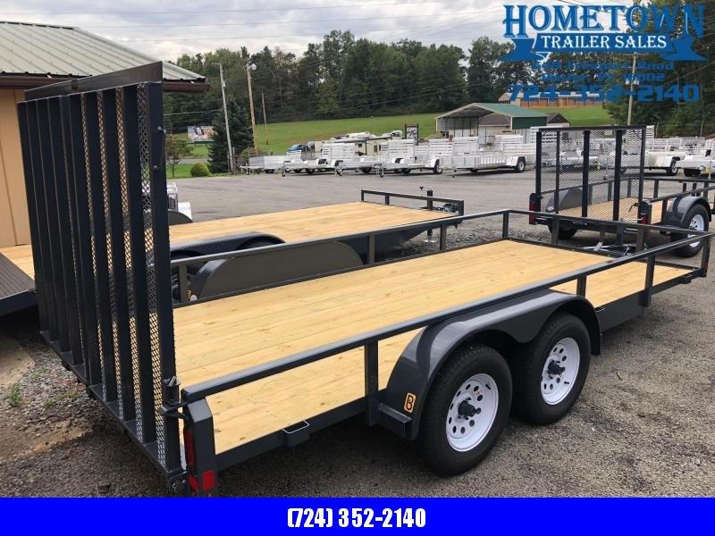 2019 Belmont (6' x 16') Tandem Axle Utility Trailer