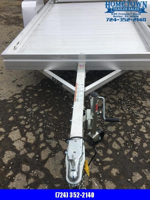2020 Aluma Model 6310H (5' x 10') Single Axle Utility Trailer