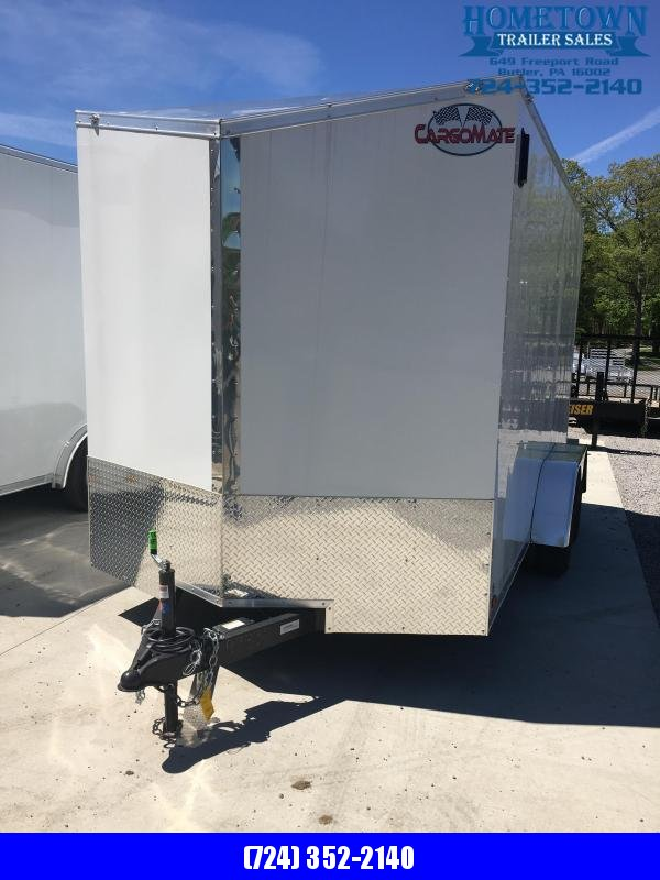 2019 Cargo Mate 7x14 Enclosed Cargo Trailer