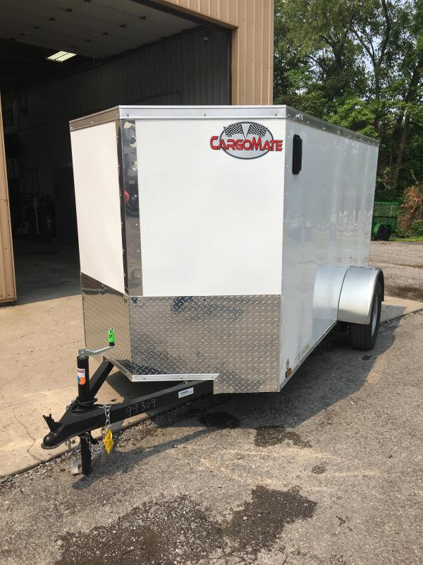 2020 Cargo Mate 5x10 Enclosed Cargo Trailer