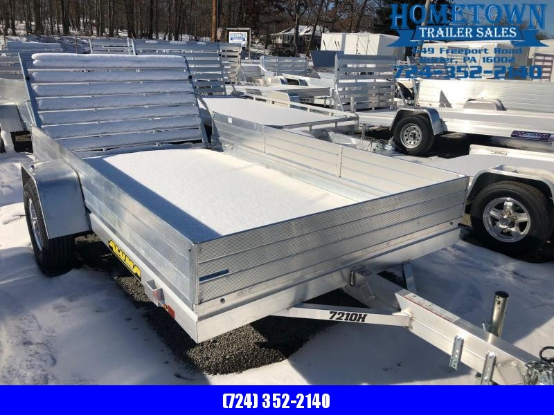 2020 Aluma Model 7210H (6' x 10') Single Axle Utility Trailer