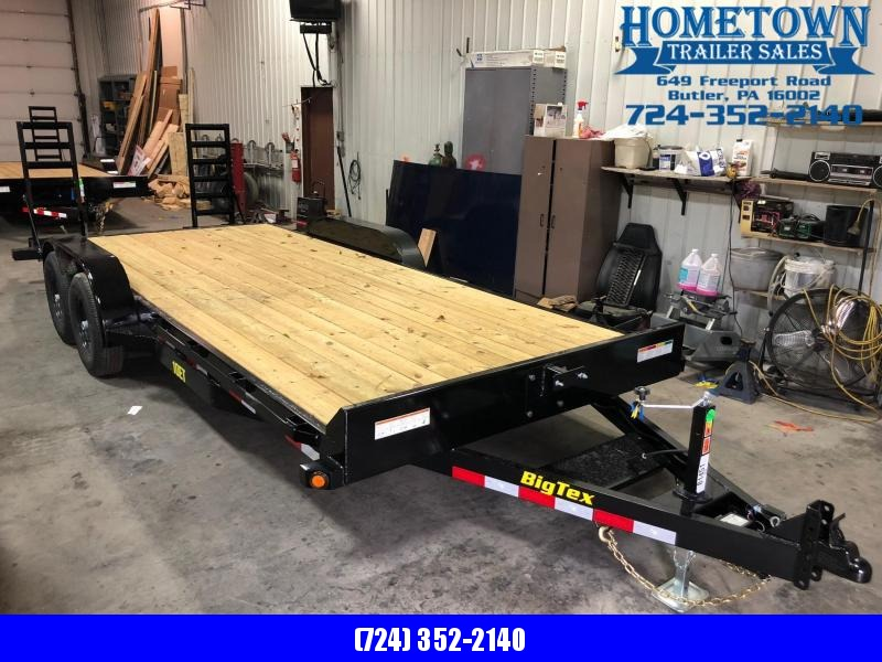 "2019 Big Tex 10ET-20 (6'9"" x 20') Pro Series Tandem Axle Equipment Trailer"