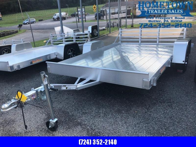 "2018 Bear Track Model BTU76120S Single Axle (6'3"" x 10') Utility Trailer"