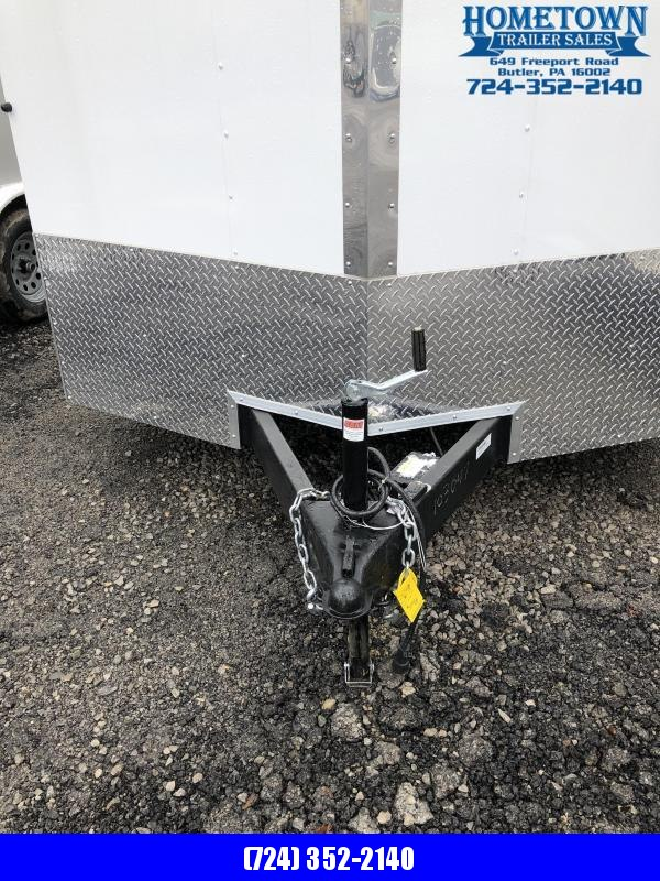 2020 Cargo Mate EHW712SA Enclosed Cargo Trailer