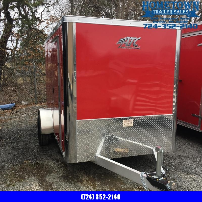 2019 Aluminum Trailer Company6X10 Enclosed Cargo Trailer