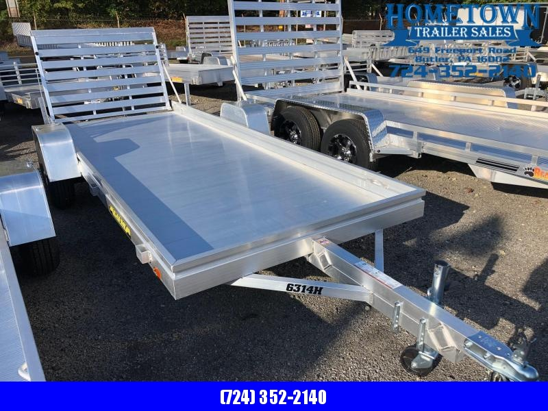 "2019 Aluma (5'2"" x 14') Single Axle Utility Trailer Model 6314H"