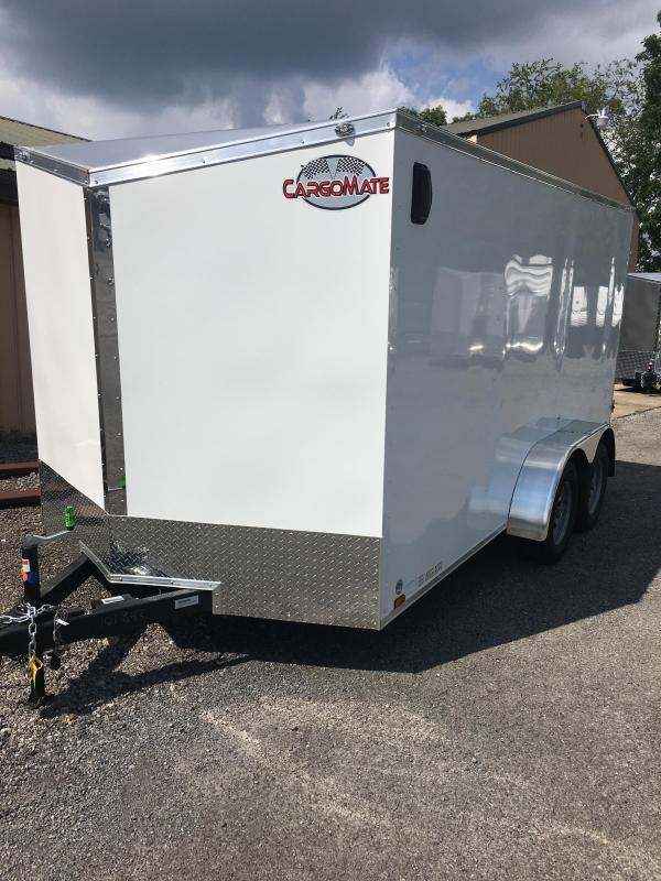 2020 Cargo Mate 7x14 Enclosed Cargo Trailer