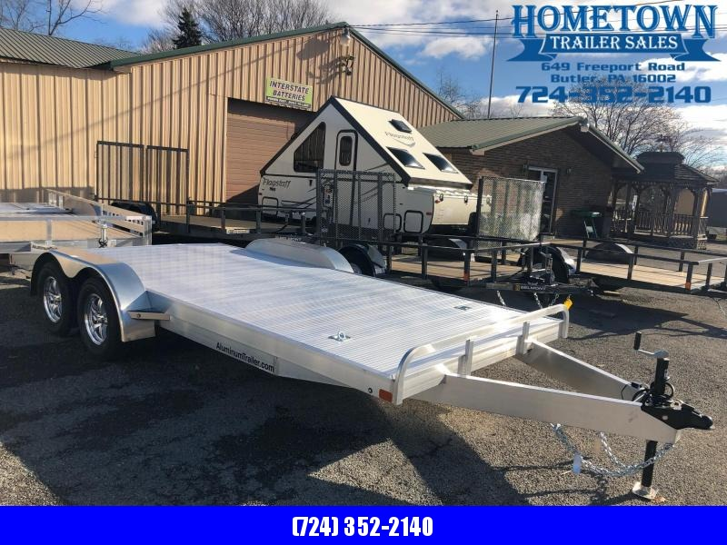 "2019 ATC Model OCHAB8518 (6'8"" x 18') Tandem Axle Car/Racing Utility Trailer"