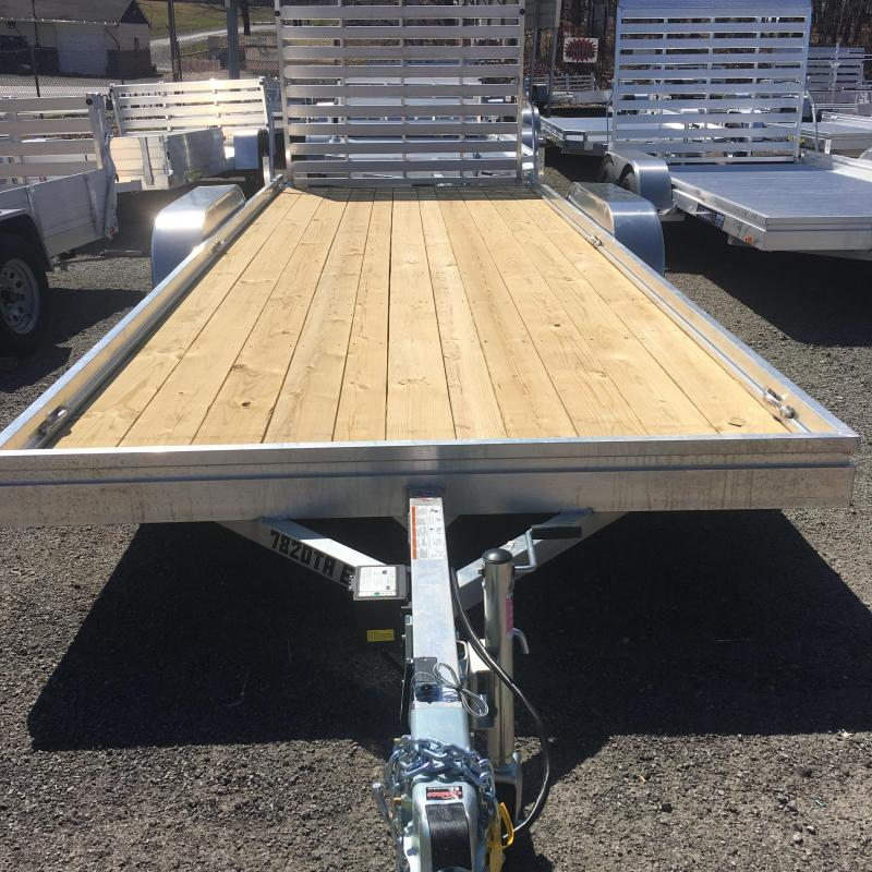 2020 Aluma Moded 7820TA ESW Tandem Axle Utility Trailer