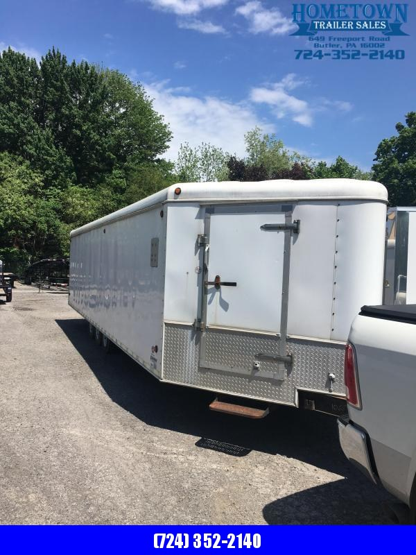 2009 United Trailers 33ft Enclosed Cargo Trailer