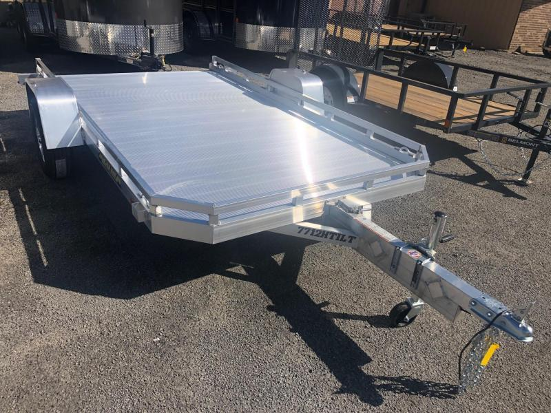 "2019 Aluma (6'4"" x 12') Single Axle Tilt Utility Trailer"